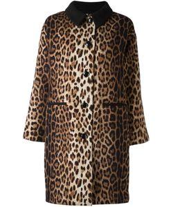 BOUTIQUE MOSCHINO | Пальто С Леопардовым Принтом