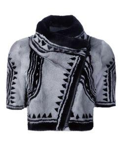 Yigal Azrouel | Укороченная Байкерская Куртка Geo