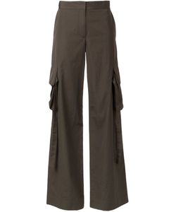 Helmut Lang | Flared Cargo Pants