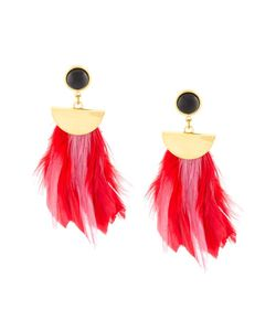 LIZZIE FORTUNATO JEWELS | Parrot Feather Earrings