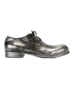 Marsell | Туфли На Шнуровке С Отделкой Металлик