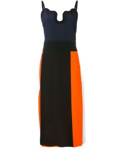 Victoria, Victoria Beckham | Платье Колор-Блок