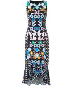 Peter Pilotto | Платье С Абстрактным Принтом