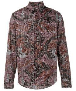 Kenzo | Рубашка С Абстрактным Принтом