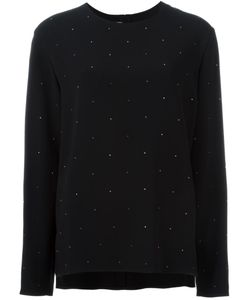 Stella Mccartney | Embelliished Crepe Top