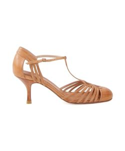 Sarah Chofakian | Strappy Pumps