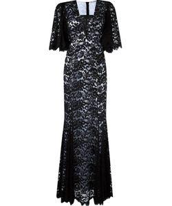 MARTHA MEDEIROS | Lace Maxi Dress