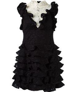 MARTHA MEDEIROS | Ruffled Lace Dress