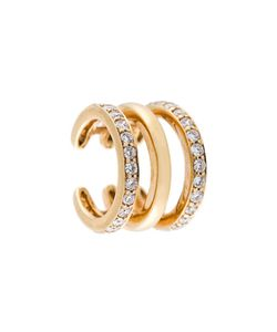 Sarah Noor | Triple Row Diamond Ear Cuff