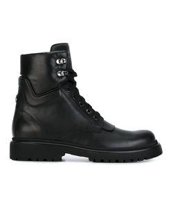 Moncler | Ботинки На Шнуровке