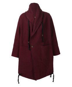 UMA WANG | Двубортное Пальто