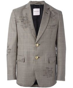 PALM ANGELS | Houndstooth Pattern Blazer