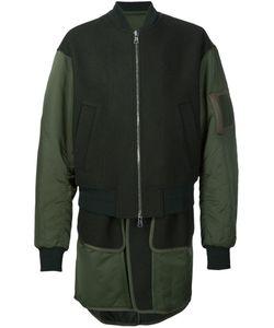 JUUN.J | Многослойная Куртка-Бомбер