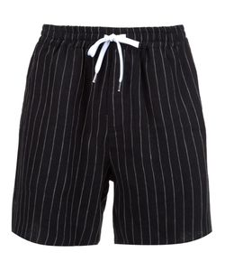 SECOND/LAYER | Pinstripe Shorts