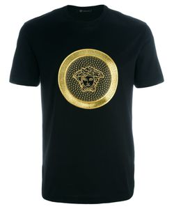 Versace | Embroidered Medusa T-Shirt