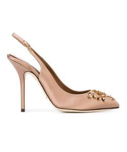 Dolce & Gabbana | Embellished Slingback Pumps