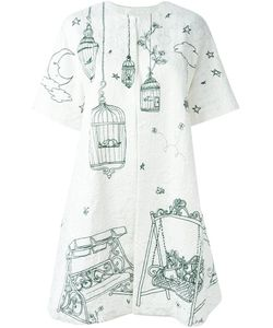 Dolce & Gabbana | Пальто Из Парчи Garden