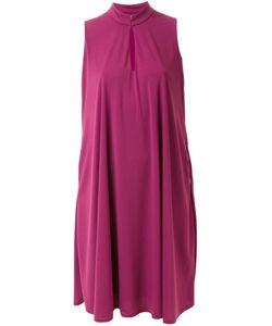 PEARL   Платье Шифт С Высоким Воротником