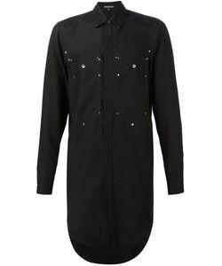 Ann Demeulemeester | Long Patch Pocket Shirt