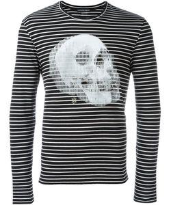 Alexander McQueen | Striped Skull Print Sweatshirt