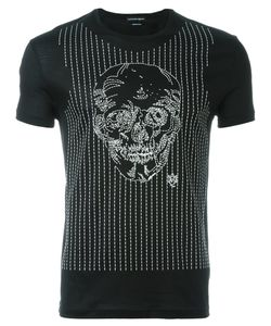 Alexander McQueen | Embroidered Skull T-Shirt