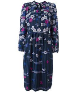Lanvin | Платье С Цветочным Принтом