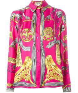 Hermès Vintage | Рубашка С Принтом Барокко