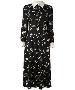 Saint Laurent | 70s Printed Midi Dress