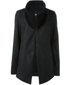 Lost & Found Ria Dunn | Wool Collar Leather Jacket