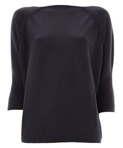 Maison Ullens | Texture Detail Knitted Blouse