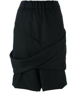 MOOHONG | Draped Shorts