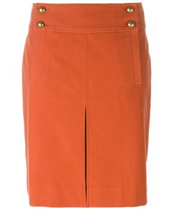 Tory Burch | Buttoned Mini Skirt