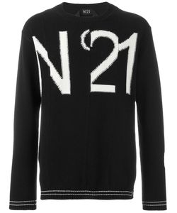 No21 | Logo Intarsia Jumper