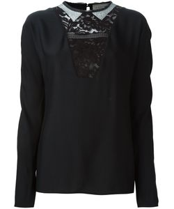 Lanvin | Lace V-Neck Top