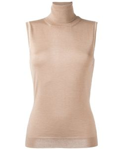 Lanvin | Sleeveless Roll Neck Blouse