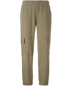 Theory | Flap Pocket Straight Trousers
