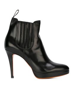 Santoni | Ботинки На Шпильке