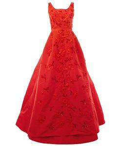 Oscar de la Renta | Декорированное Платье
