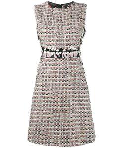 Giambattista Valli | Твидовое Платье-Шифт