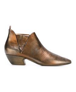Marsell | Ботинки По Щиколотку С Металлическим Отблеском