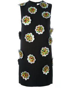 Victoria, Victoria Beckham | Платье С Цветочной Аппликацией