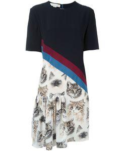 Stella Mccartney | Платье Bellucci С Узором В Виде Кошек