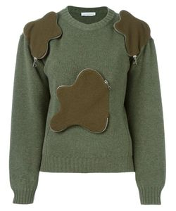 J.W. Anderson | Zipped Cloud Detail Sweater