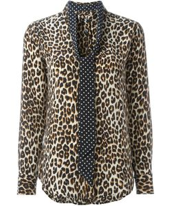 Equipment | Leopard Print Shirt