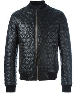 Versace Collection | Star Detail Bomber Jacket