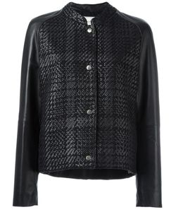 Lanvin | Куртка-Бомбер С Узором В Клетку