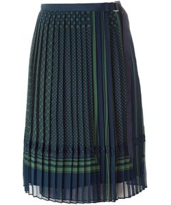 Sacai | Pleated Midi Skirt