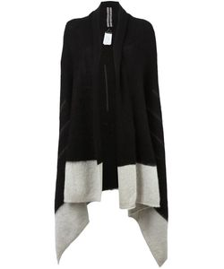 Rick Owens | Asymmetric Colour Block Cardi-Coat