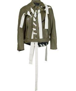CRAIG GREEN | Байкерская Куртка С Декоративной Шнуровкой