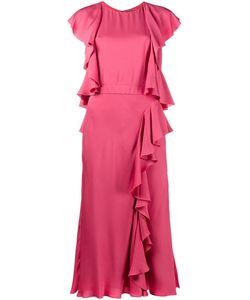 Alexander McQueen | Платье С Оборками
